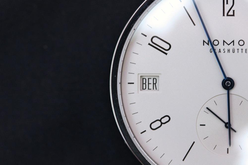 Nomos Tangomat GMT City Code Timezone Indicator