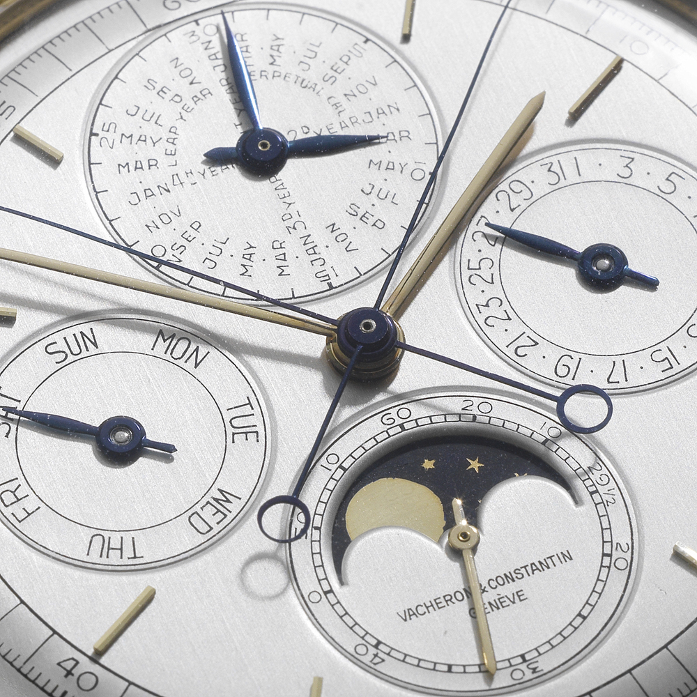 A Closer Look At The Triple Complication's Dial
