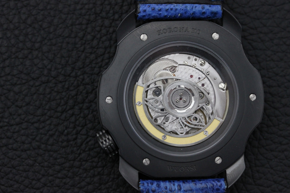 Modified Soprod A10 Movement With New Moon Face Skeletonized Rotor