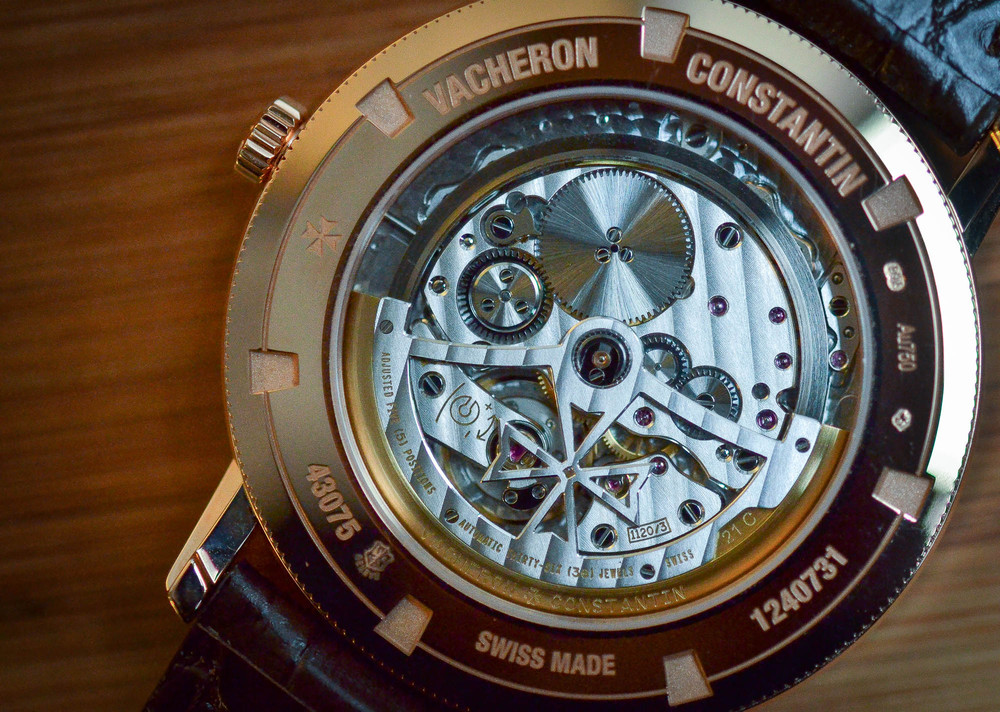 The Vacheron Constantin Caliber 1120