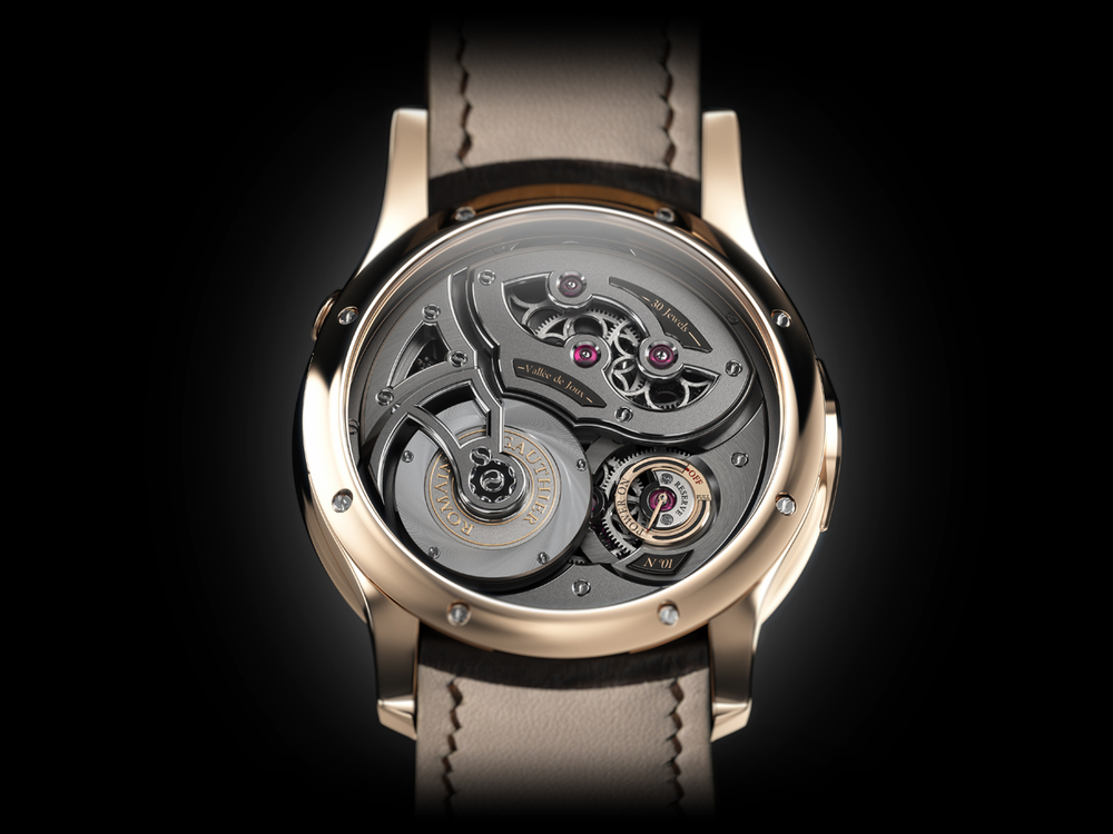 A Look At The Movement Through The Sapphire Caseback