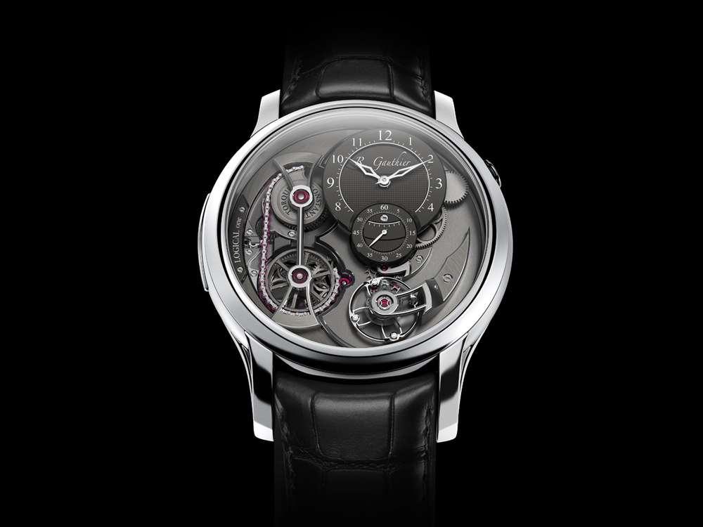 The Romain Gauthier Logical One in Platinum