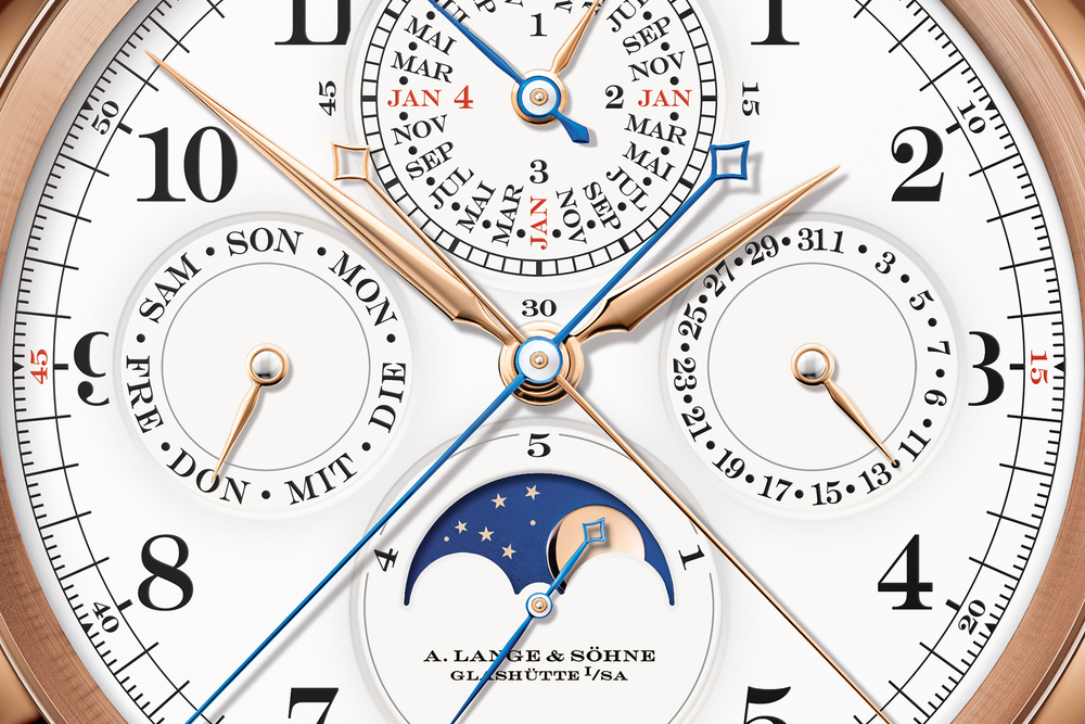 A Closeup of The Grand Complication's Dial