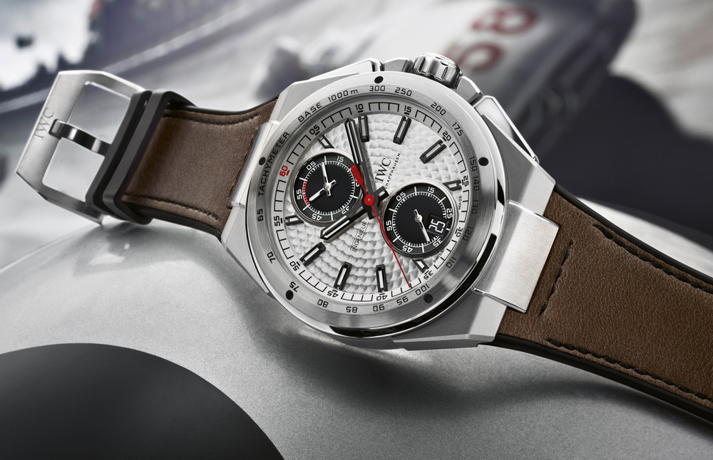 Silberpfeil Chronograph With Silver-Plated Dial