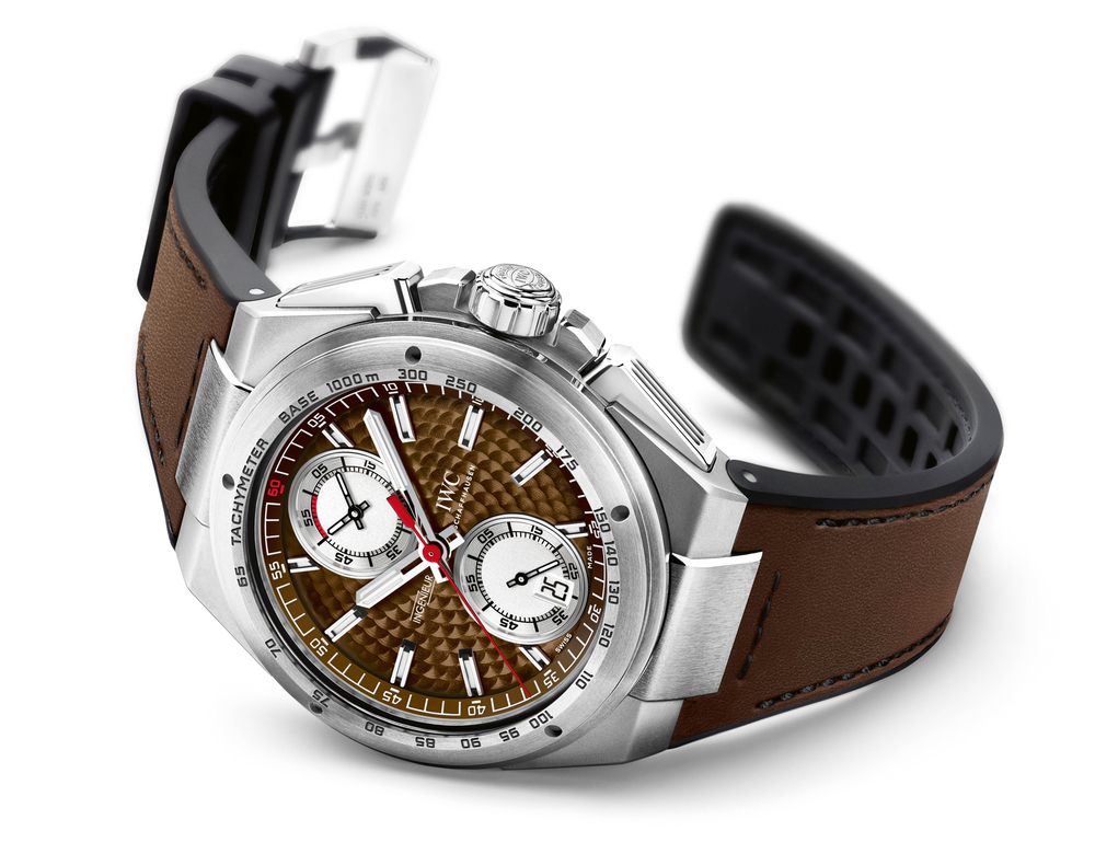 Silberpfeil Chronograph With Brown Dial