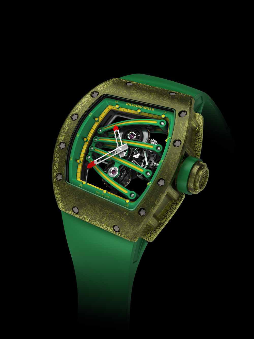 The Richard Mille RM 59-01 Tourbillon Yohan Blake