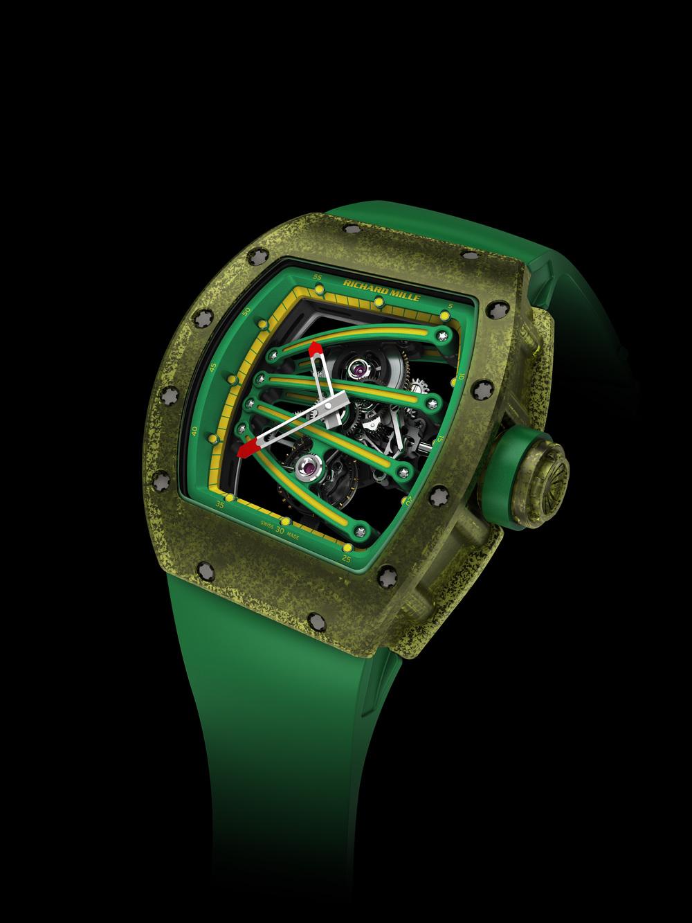 The Richard Mille RM 59-01 Tourbillon Yohan Blake