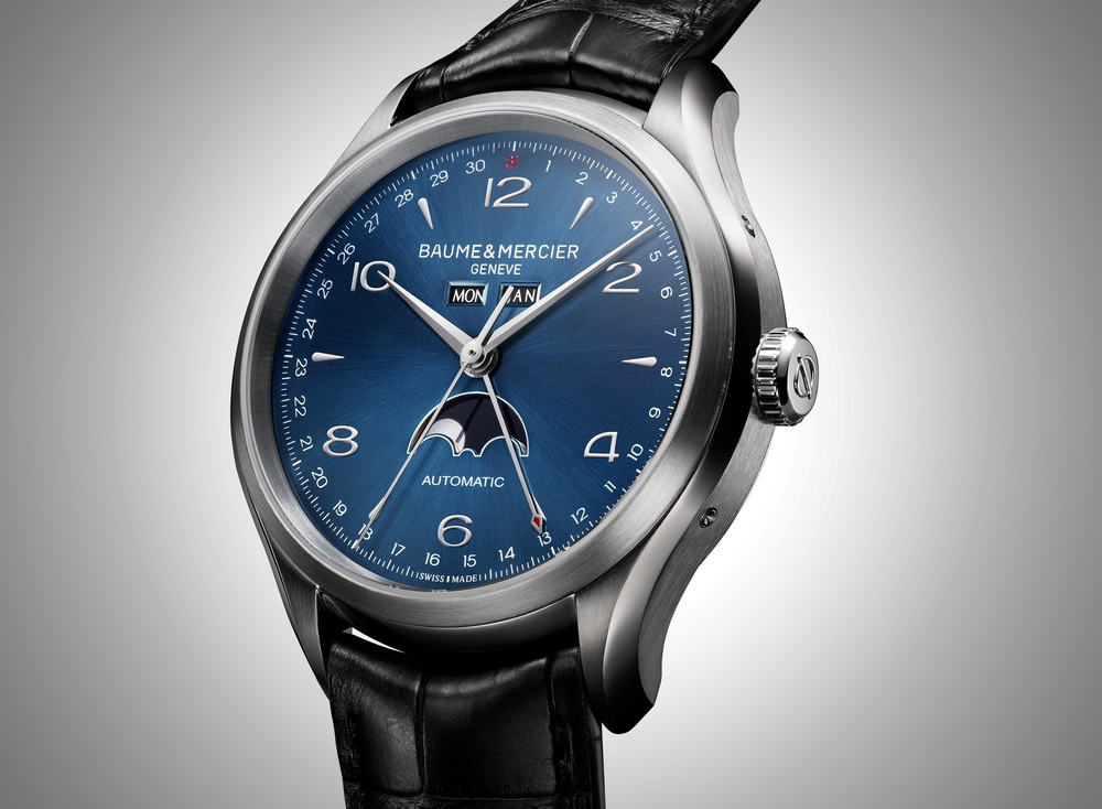 Clifton Complete Calendar With Blue Dial