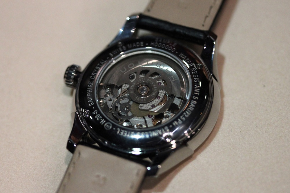 The Winding Rotor, Seen Through The Sapphire Caseback