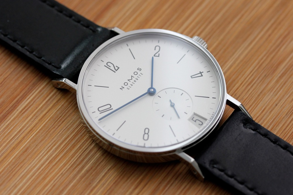 Hands On With The Nomos Tangente Datum By Hodinkee