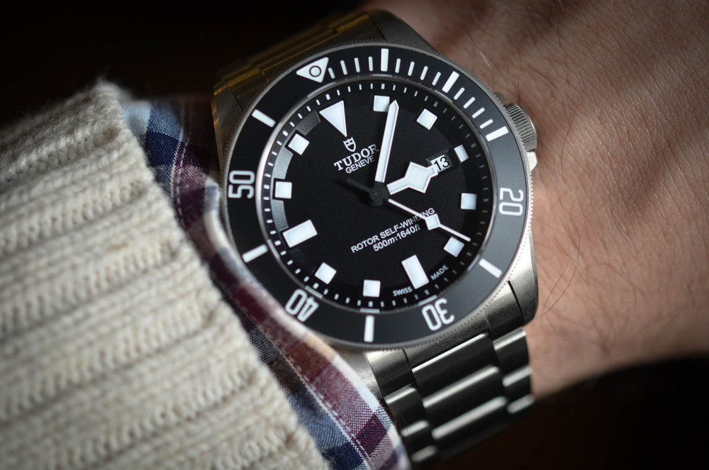 A week on the wrist the tudor pelagos by hodinkee - Tudor dive watch price ...