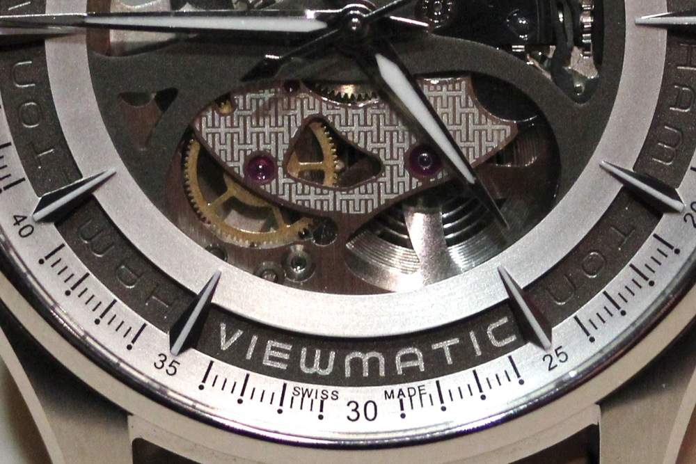 Viewmatic - Two Tiered Dial Made Up Of A Dial Proper And The Movement Plates