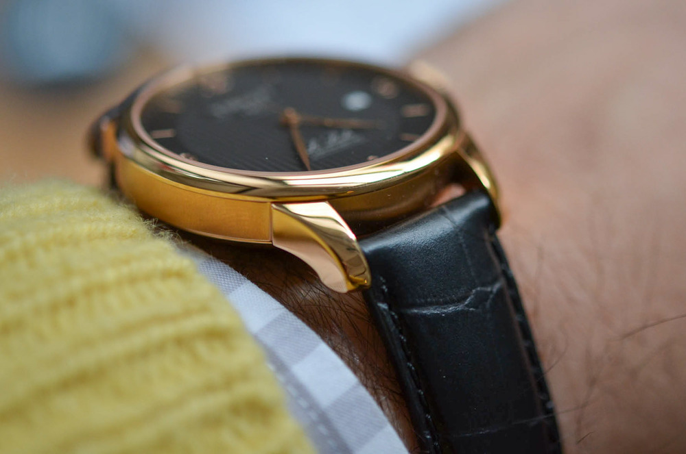 The Le Locle Chronometre Wears Nice And Low To The Wrist