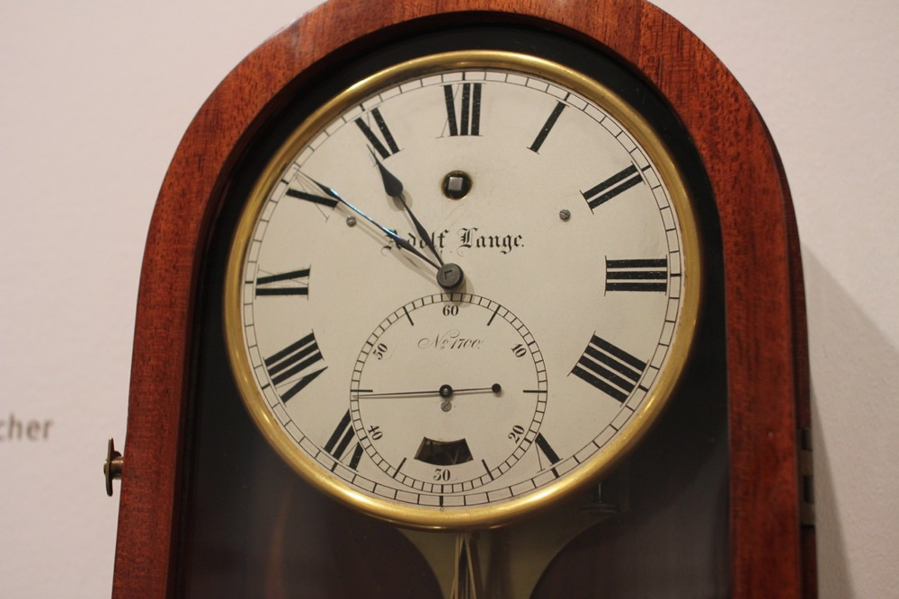 Adolf Lange wall clock