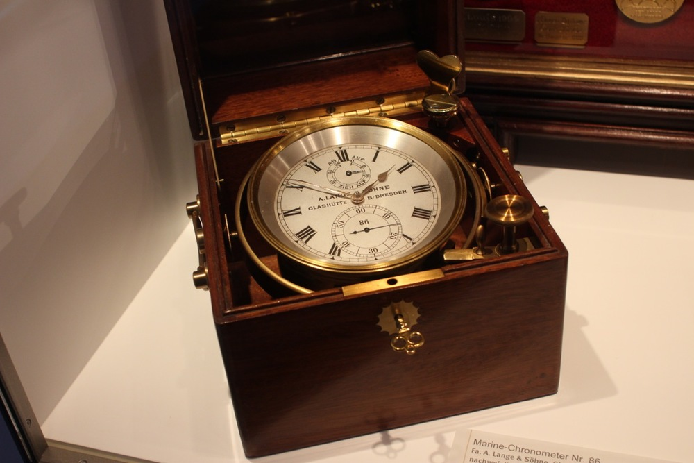 A. Lange & Söhne marine chronometer used on the second German expedition to the South Pole, 1911