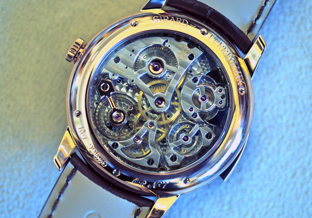 The beautiful minute repeater movement
