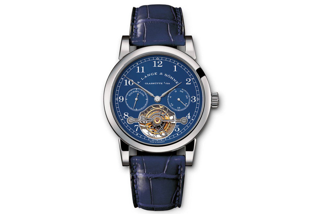A. Lange & Söhne Pour Le Mérite Tourbillon Fetches 275,710 Euros At Antiquorum Geneva