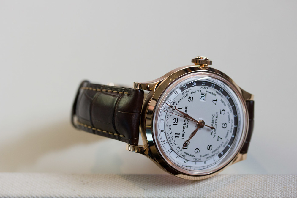 Capeland Manufacture Worldtimer In Red Gold