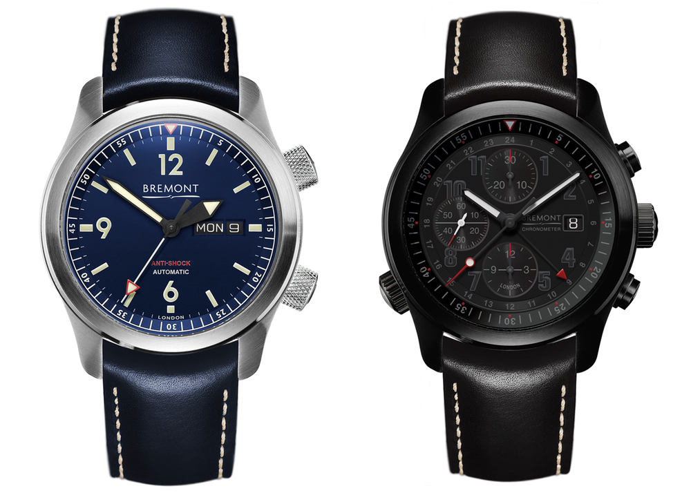 The U-2 Blue and ALT1-B2 (GMT) Chronograph