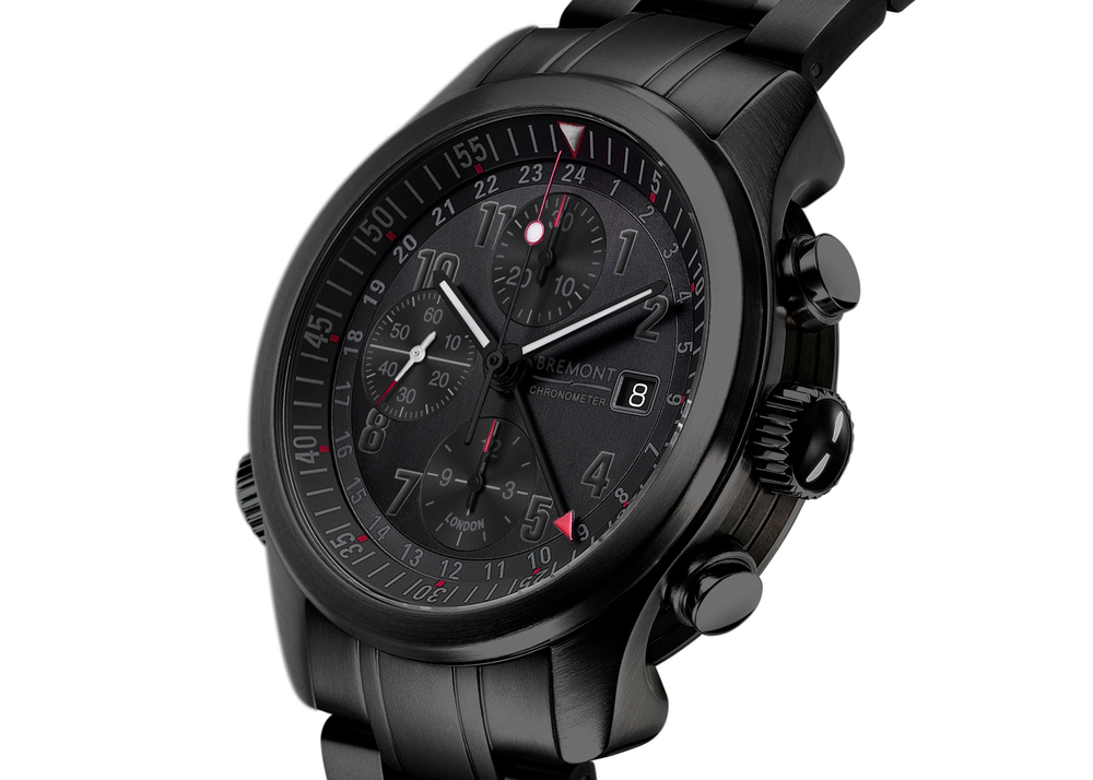 The Bremont ALT1-B2 (GMT) Chronograph