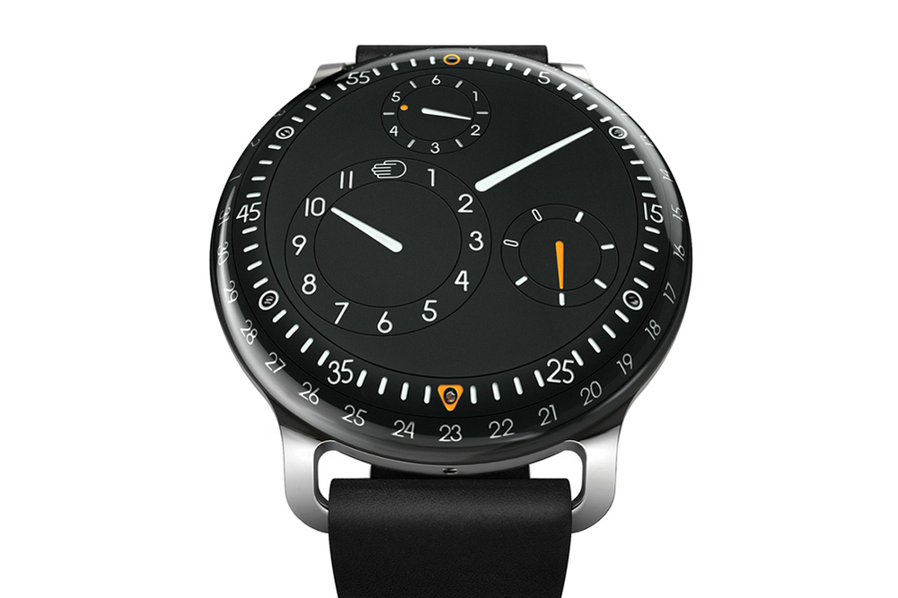 The Type 3's Liquid-Filled Dial