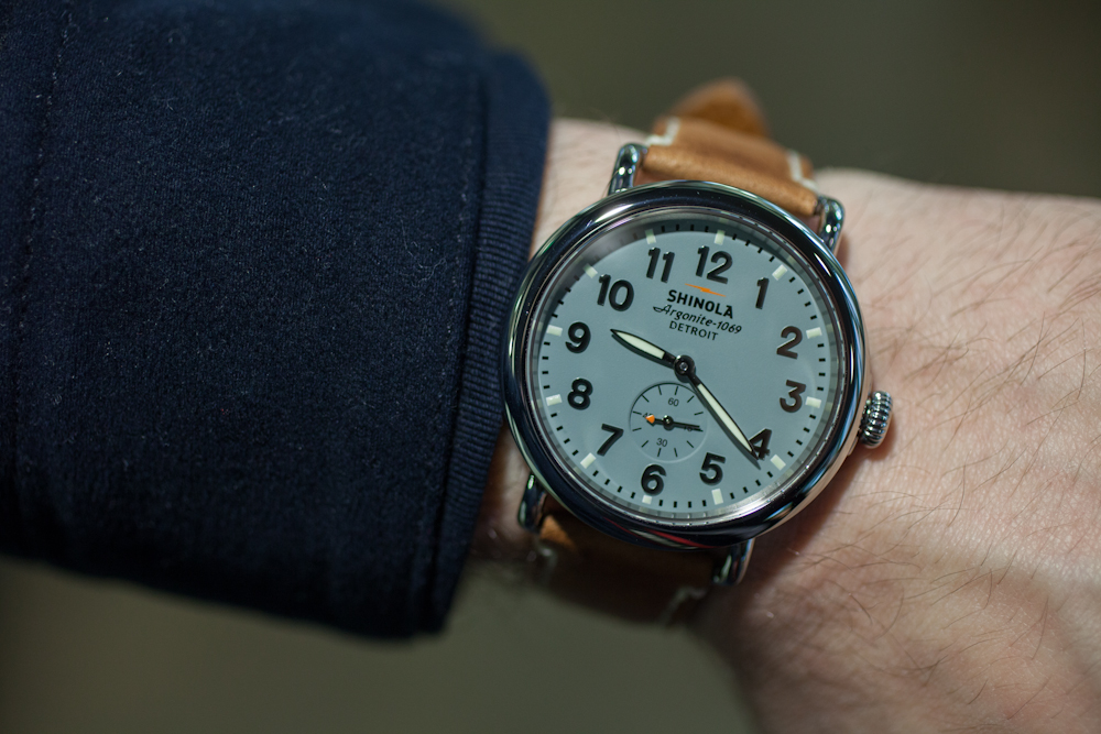 40mm Runwell On The Wrist
