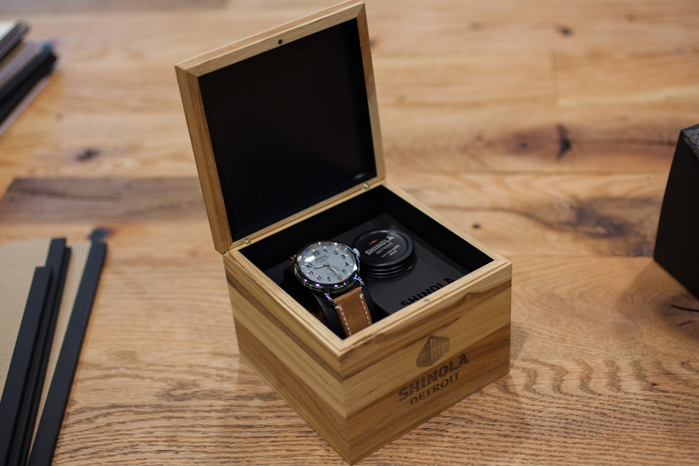 The Shinola Runwell In Box