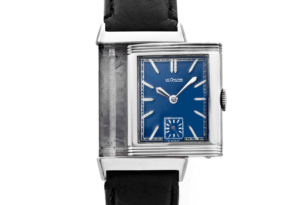 1933 Blue Dial Reverso