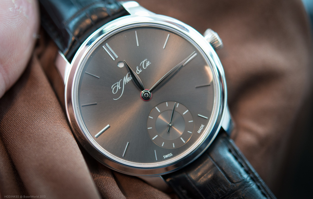 The H. Moser Nomad with Travel Time Hand Hidden