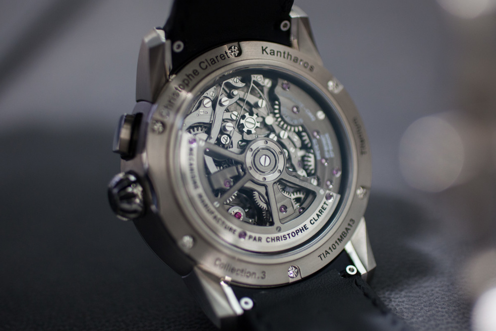 The Kantharos Movement, With Visible Clutch Wheel For The Chronograph Function