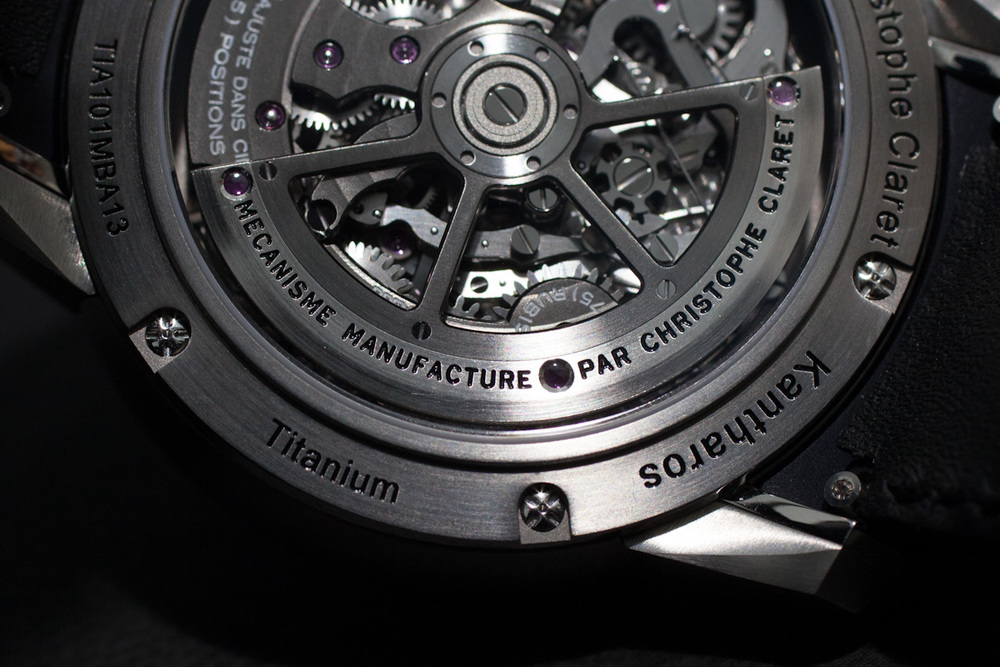 Movement Close-Up With The Platinum Winding Rotor