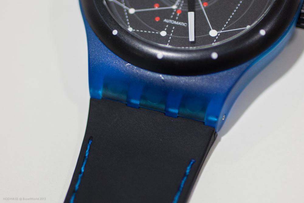 Signature Swatch Three Prong Strap and Plastic Case