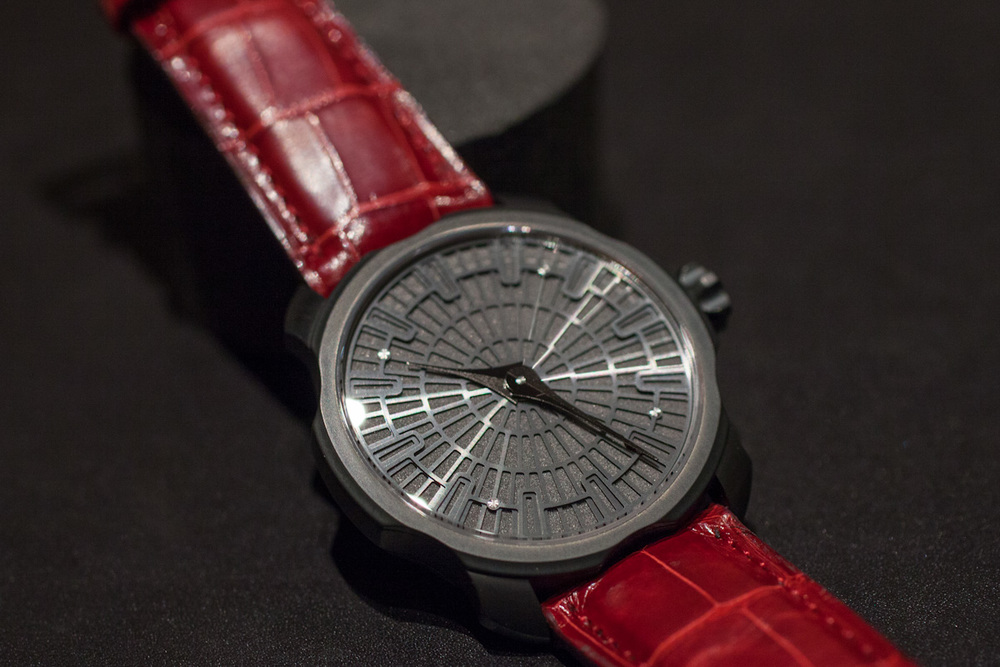 The K1 With DLC Case And Black Dial