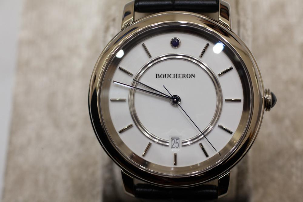 White Gold, White Dial, & Date