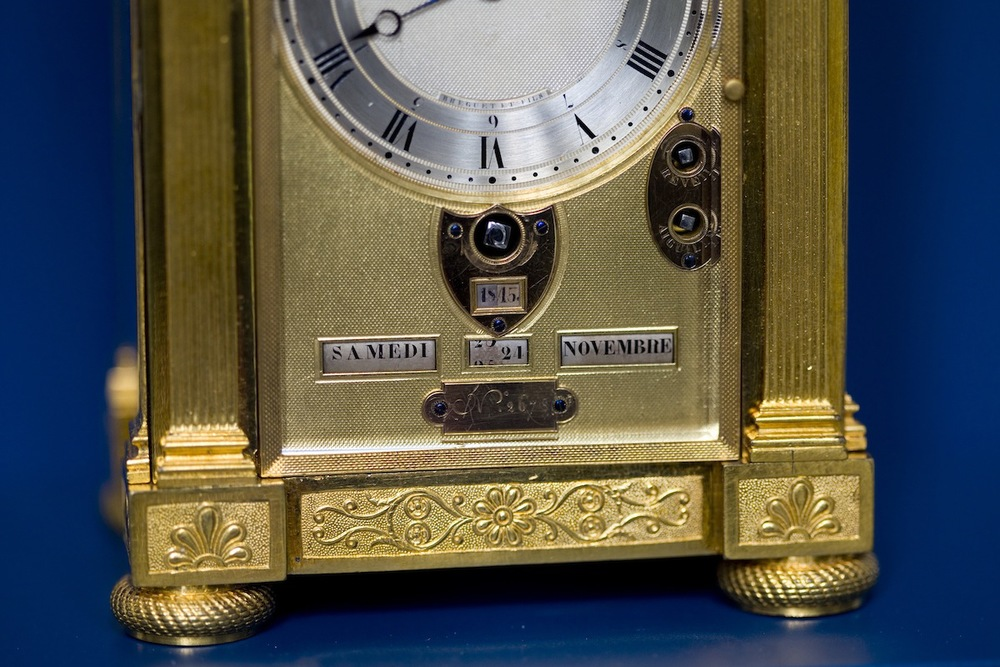 Breguet Carriage Clock Calendar