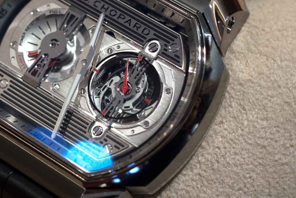The Engine One H's Tourbillon