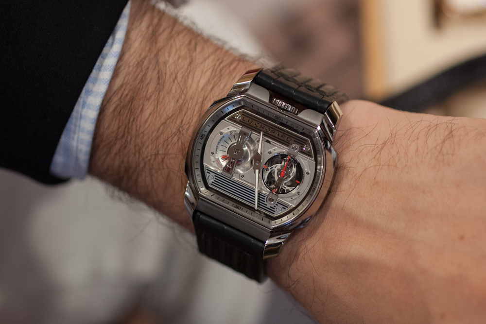 The Chopard Engine One H On The Wrist