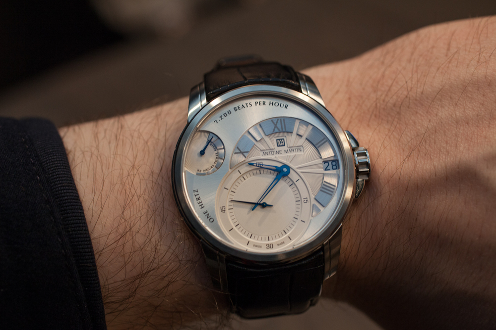 The Antoine Martin Slow Runner On The Wrist