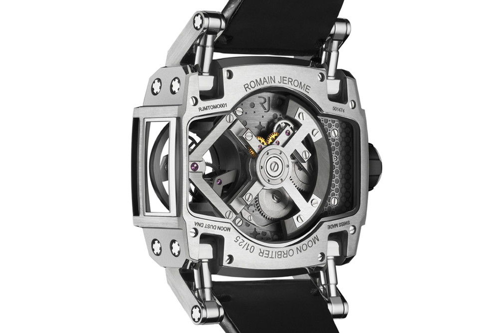La Joux-Perret Movement, Automatically Winding With Flying Tourbillon