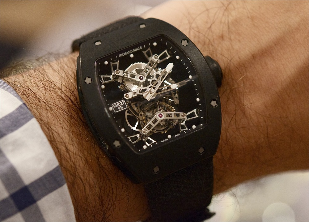 Rafael Nadal's Richard Mille Tourbillon