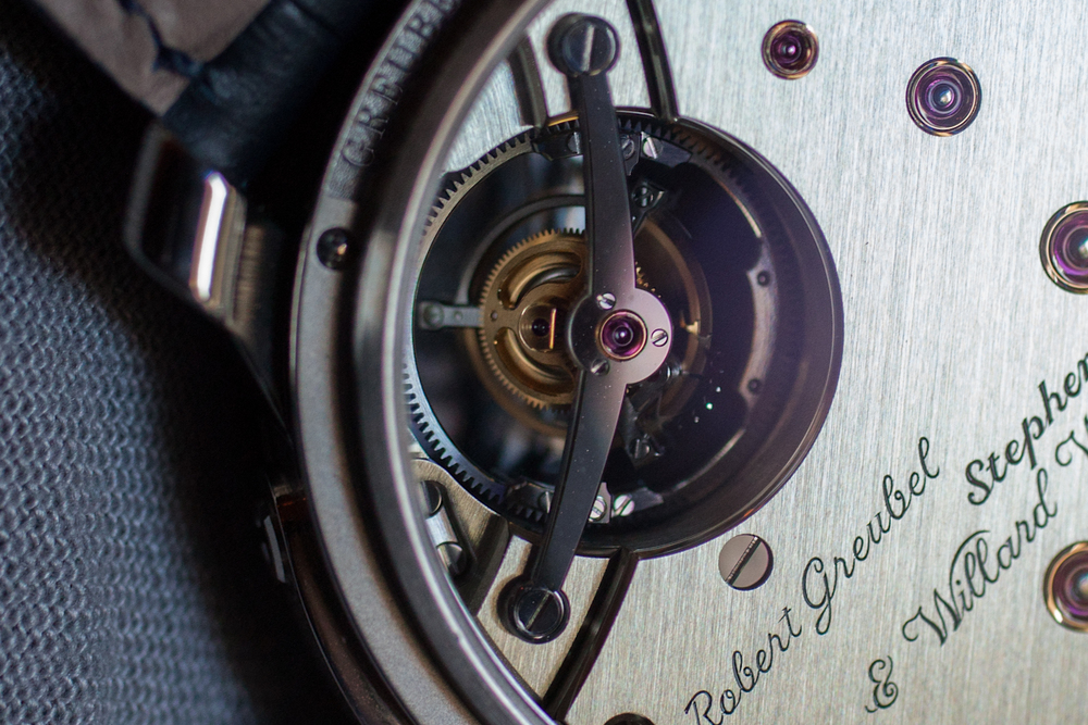 The Tourbillon From Behind