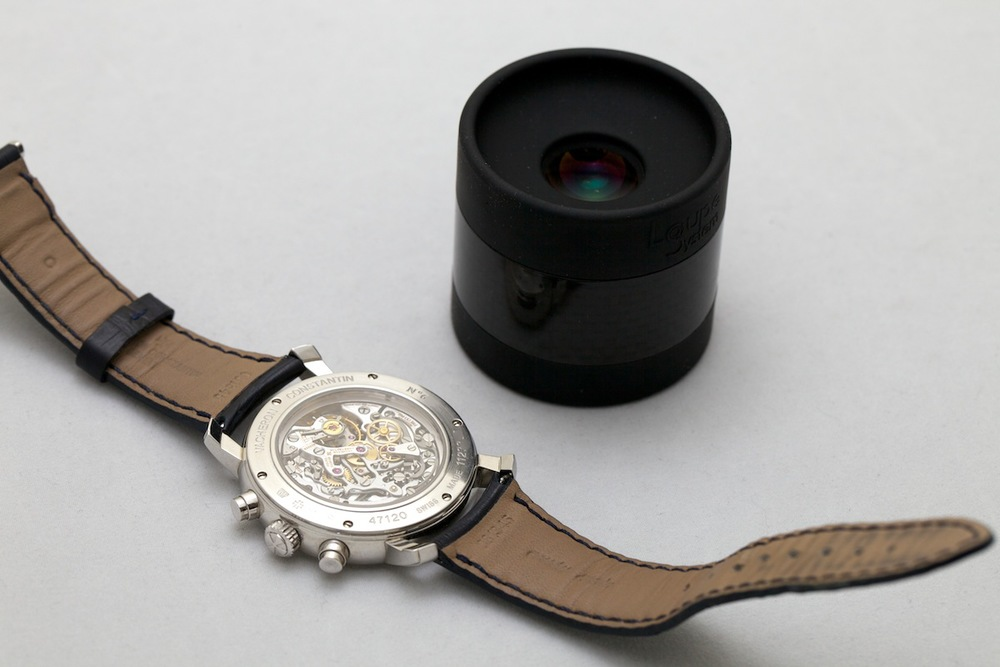 Check out a Vacheron Constantin Movement With Loupe System