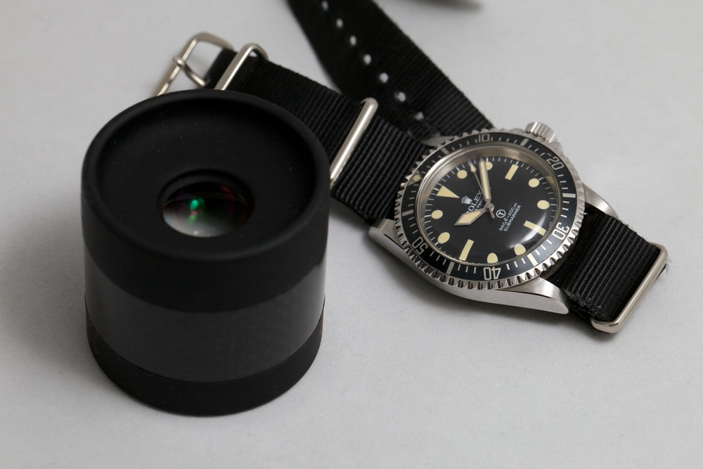 Examining A Mil Sub With Loupe System