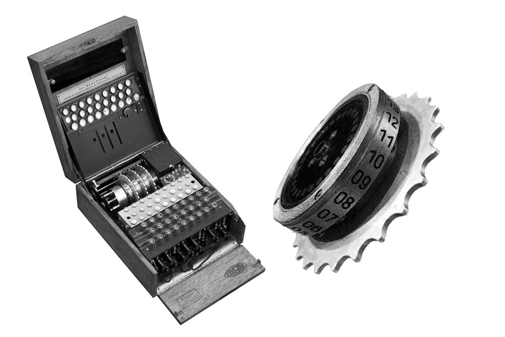 Enigma Machine & Enigma Rotor