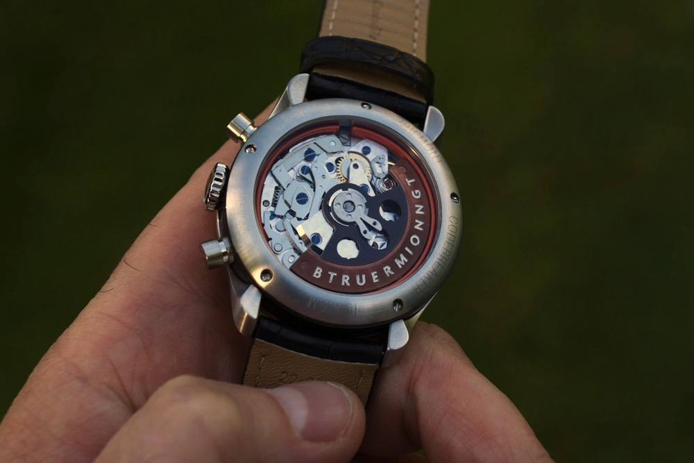 The BE-83AR Movement, A Heavily Modified Valjoux 7750