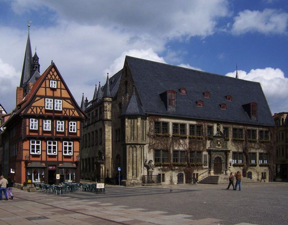 Historic Quedlinburg, image via Wikimedia Commons
