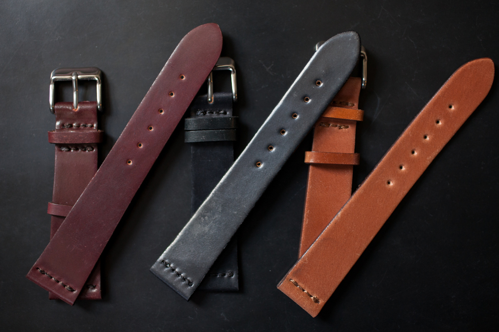 Unlined HODINKEE Horween Shell Cordovan Straps