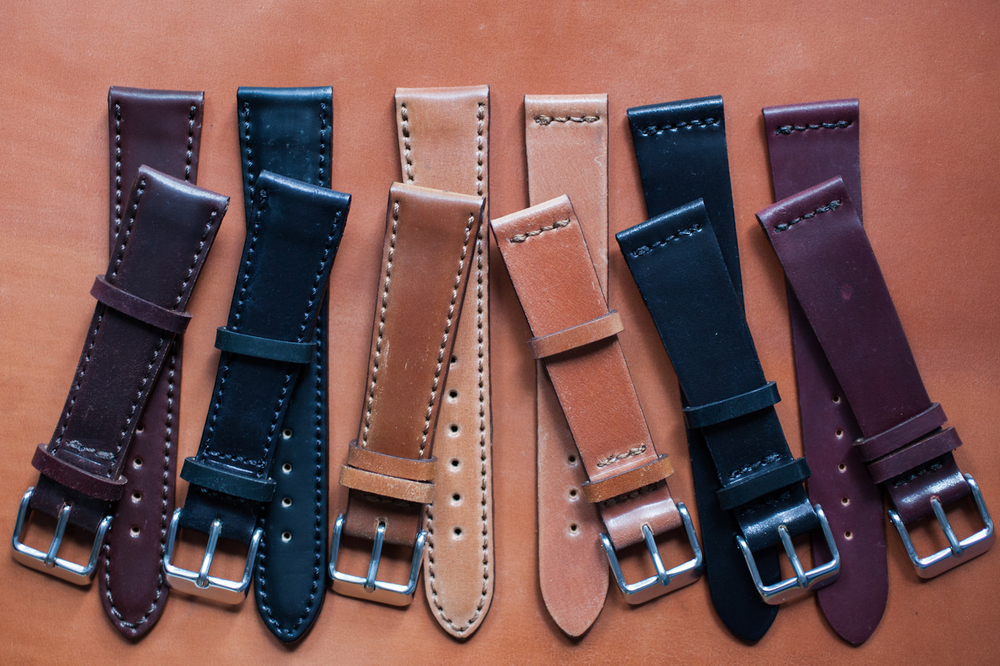 HODINKEE Horween Shell Cordovan Made in the USA Straps