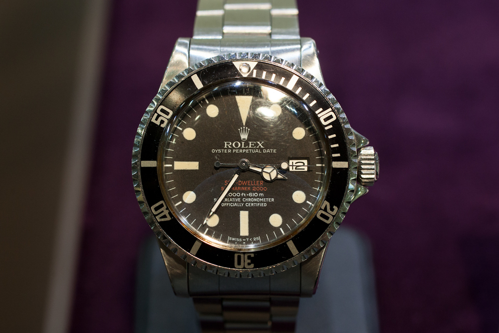 Double Red Rolex Sea Dweller