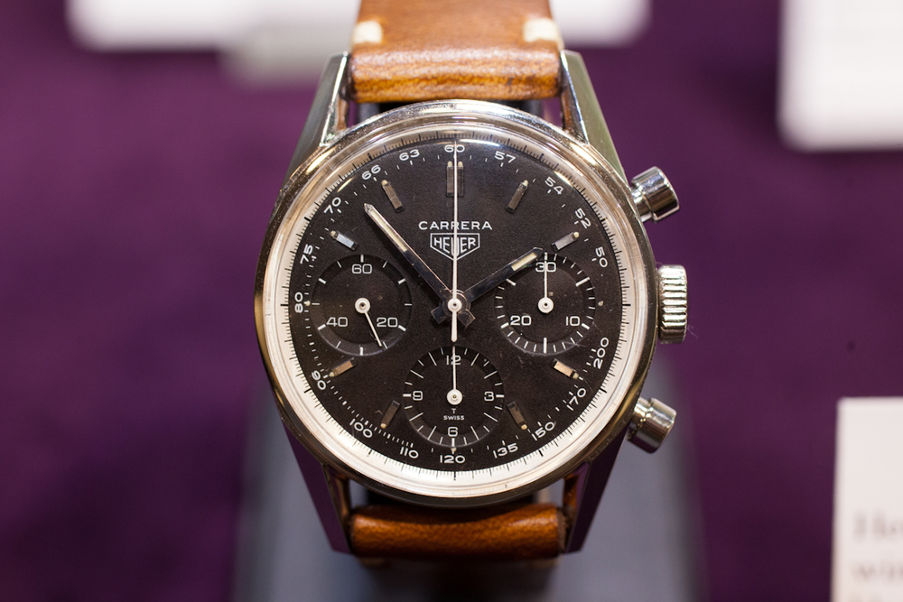 Heuer Carrera With Tachy Dial